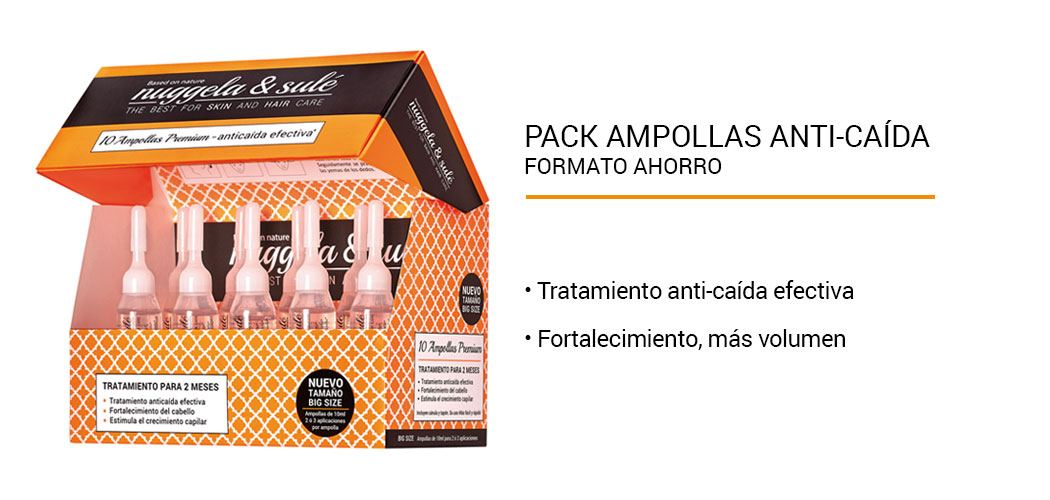 Pack Ampollas Anti-Caída Nuggela & Sulé 10x10 ml